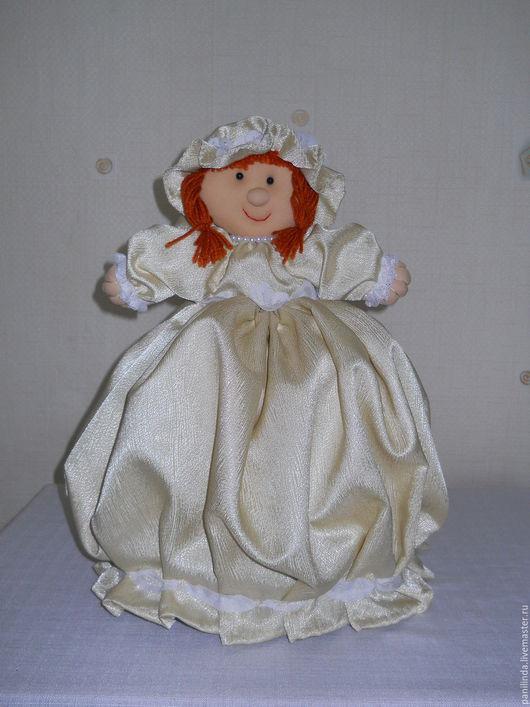 Кухня ручной работы. Ярмарка Мастеров - ручная работа. Купить Кукла на чайник. Handmade. Чайный домик для кухни, кукла текстильная