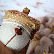 Куклы и игрушки ручной работы. Ярмарка Мастеров - ручная работа Шоколадно-сливочный. Handmade.