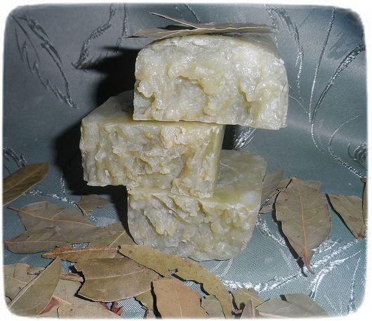 Мыло ручной работы. Ярмарка Мастеров - ручная работа. Купить Лавровое мыло с нуля.Аллепское. Handmade. Салатовый, мыло