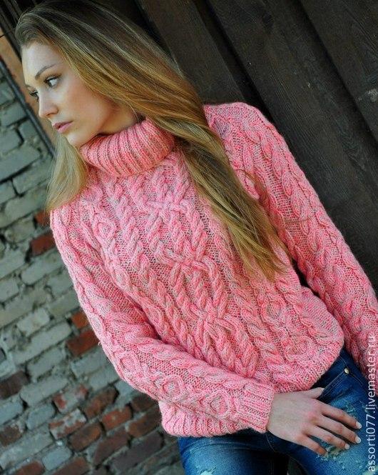 """Кофты и свитера ручной работы. Ярмарка Мастеров - ручная работа. Купить женский свитер """"Сладкий"""". Handmade. Разноцветный, подарок любимой"""