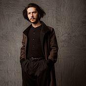 """Одежда ручной работы. Ярмарка Мастеров - ручная работа Мужское пальто """"Marco Polo"""" Скидка 40%. Handmade."""