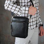 Сумки и аксессуары handmade. Livemaster - original item Men`s shoulder bag