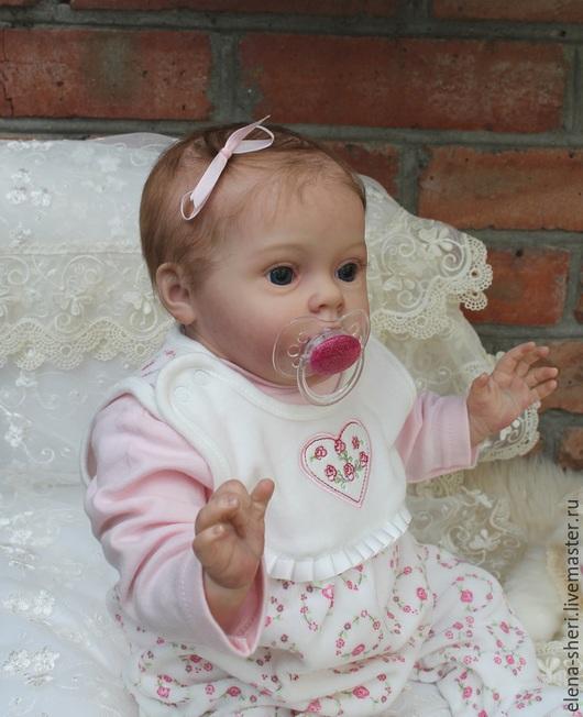 Куклы-младенцы и reborn ручной работы. Ярмарка Мастеров - ручная работа. Купить Тиффани. Handmade. Розовый, Виниловая заготовка