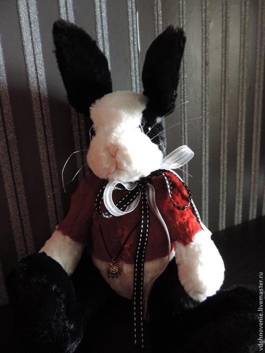 Мишки Тедди ручной работы. Ярмарка Мастеров - ручная работа. Купить Кролик Сказочной Принцессы. Handmade. Чёрно-белый