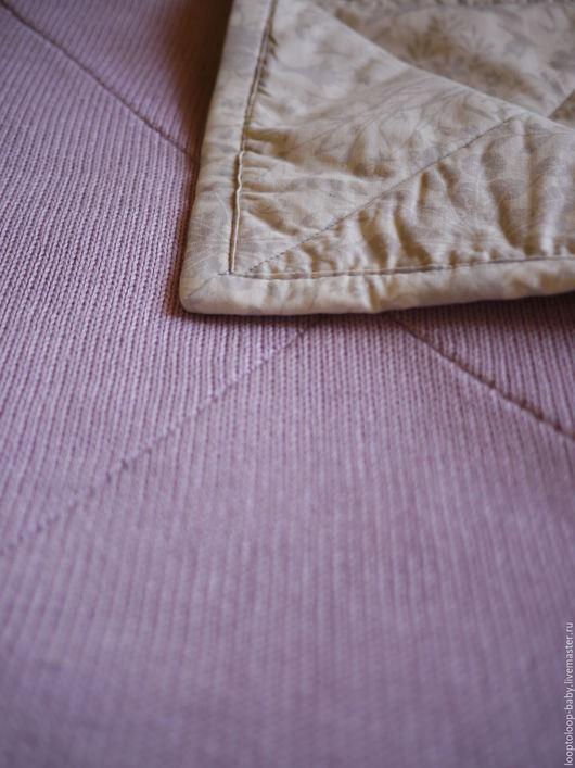 Пледы и одеяла ручной работы. Ярмарка Мастеров - ручная работа. Купить Детское одеяло на подкладе (двустороннее стеганое одеяло). Handmade.