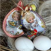 Подарки к праздникам ручной работы. Ярмарка Мастеров - ручная работа Ангелы к Пасхе. Handmade.