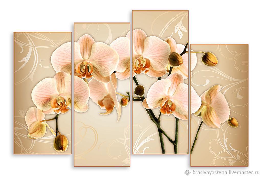 понял, картина для распечатки орхидея отделки