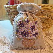 Для дома и интерьера handmade. Livemaster - original item pouch-sachet