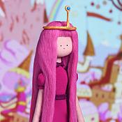 Куклы и игрушки ручной работы. Ярмарка Мастеров - ручная работа Принцесса Жвачка из мульсериала Время Приключений. Handmade.