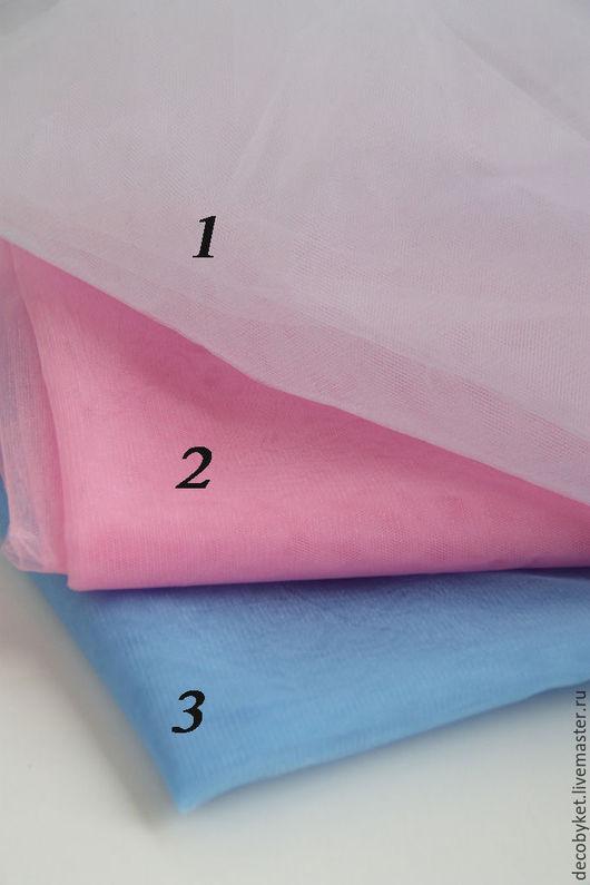 Шитье ручной работы. Ярмарка Мастеров - ручная работа. Купить Фатин (сетка).. Handmade. Фатин, голубой, фатиновая юбка, сеточка