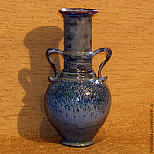 """Для дома и интерьера ручной работы. Ярмарка Мастеров - ручная работа ваза """"старая бутылка"""". Handmade."""