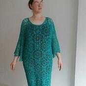 """Одежда ручной работы. Ярмарка Мастеров - ручная работа Платье нарядное ажурное """"Барышня"""" ручной работы. Handmade."""