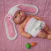 """Работы для детей, ручной работы. Ярмарка Мастеров - ручная работа Костюм """"Зайчонок"""" для фото сессии новорожденных. Handmade."""