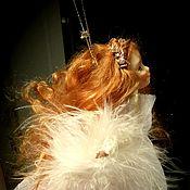 Куклы и игрушки ручной работы. Ярмарка Мастеров - ручная работа Ангелок в белоснежном кружеве. Handmade.