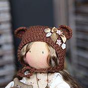 Куклы и игрушки ручной работы. Ярмарка Мастеров - ручная работа Текстильная кукла Мишутка. Handmade.