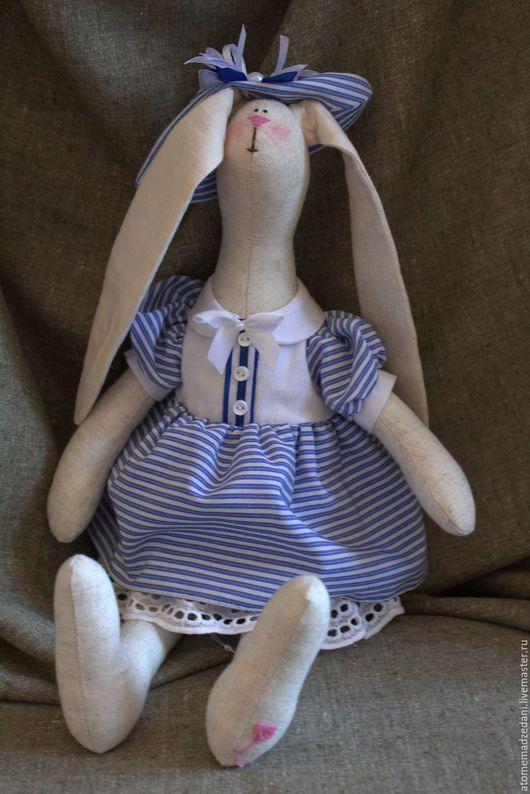 Куклы Тильды ручной работы. Ярмарка Мастеров - ручная работа. Купить тильда-зайцы БОЦМАН и МОРЯЧКА. Handmade. Тильда, кукла