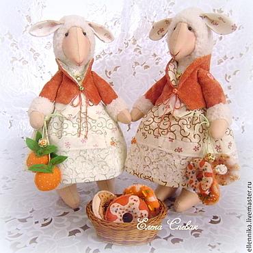Куклы и игрушки ручной работы. Ярмарка Мастеров - ручная работа Овечки подружки. Handmade.