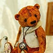 Куклы и игрушки ручной работы. Ярмарка Мастеров - ручная работа Рудик медведь-тедди. Handmade.