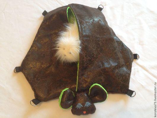 """Для других животных, ручной работы. Ярмарка Мастеров - ручная работа. Купить Гамак для хорька """"Летучая мышь"""". Handmade. Гамак"""