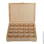 Материалы для творчества handmade. Livemaster - original item 342510P20 Box 34 25 10 cm(20TH). jewelry, crafts.. Handmade.