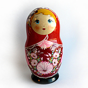 Русский стиль handmade. Livemaster - original item Matryoshka - The Box
