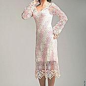 """Одежда ручной работы. Ярмарка Мастеров - ручная работа Вязанное платье """"Магия """". Handmade."""