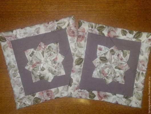 Кухня ручной работы. Ярмарка Мастеров - ручная работа. Купить Прихватки оригами. Handmade. Пэчворк, прихватки, текстиль, хлопок
