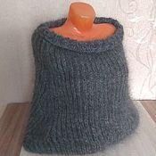 Одежда ручной работы. Ярмарка Мастеров - ручная работа Пончо из козьего пуха. Handmade.