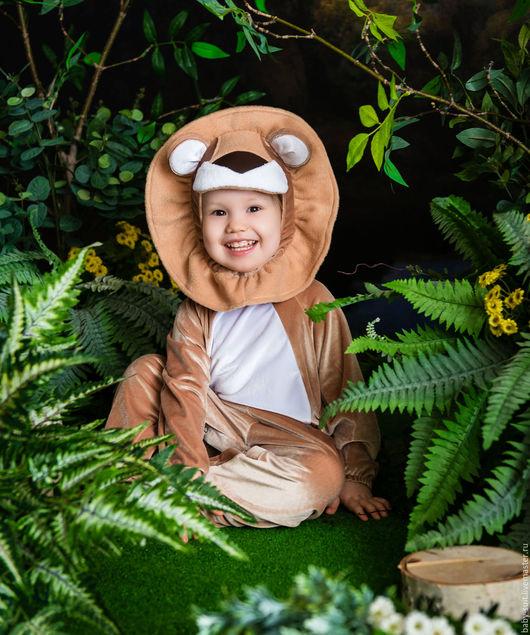 Карнавальный новогодний костюм для малышей Львенок Лео