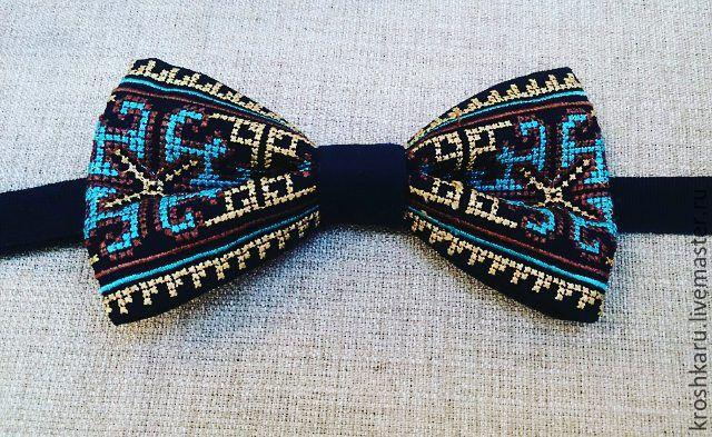 Галстуки бабочки Вышивка крестом, Галстуки, Омск,  Фото №1