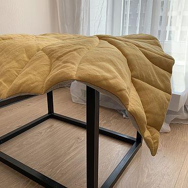 Текстиль ручной работы. Ярмарка Мастеров - ручная работа Коврик лист. Handmade.