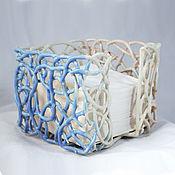 Для дома и интерьера handmade. Livemaster - original item Napkin Holder Cube. Handmade.