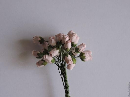 Открытки и скрапбукинг ручной работы. Ярмарка Мастеров - ручная работа. Купить 6 расцветок Бутоны роз полураскрытые 5 шт. Handmade.