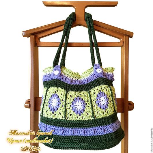 Женские сумки ручной работы. Ярмарка Мастеров - ручная работа. Купить Сумка вязаная крючком. Handmade. Сумка вязаная крючком