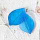 Материалы для флористики ручной работы. Молд лист розы двусторонний. My-Thai. Интернет-магазин Ярмарка Мастеров. Молд лист