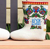 Обувь ручной работы handmade. Livemaster - original item A pair of boots to foreigners. Handmade.