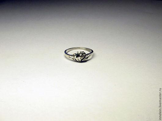 """Кольца ручной работы. Ярмарка Мастеров - ручная работа. Купить Серебряное кольцо """"Тюльпан"""". Handmade. Серебряный, тюльпан, кольцо с цветыми"""