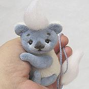 Куклы и игрушки ручной работы. Ярмарка Мастеров - ручная работа Тедди талисман Шуршунчик Снежинка. Handmade.
