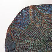 Посуда ручной работы. Ярмарка Мастеров - ручная работа Тарелка на ножках Ragnatela. Handmade.