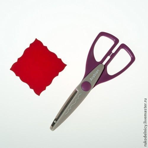 Фигурные ножницы Арабский узор