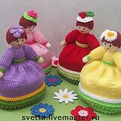 """Куклы и игрушки ручной работы. Ярмарка Мастеров - ручная работа Вязаные куклы-перевертыши """"Девицы-красавицы"""". Handmade."""