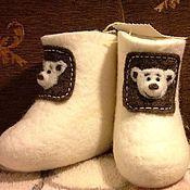 Обувь ручной работы. Ярмарка Мастеров - ручная работа мишутки для Мишутки. Handmade.