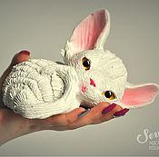 Подарки к праздникам handmade. Livemaster - original item Timosha cat Devon Rex. Handmade.