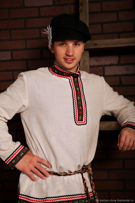 Косоворотка арт. 1222, Народные рубахи, Москва,  Фото №1