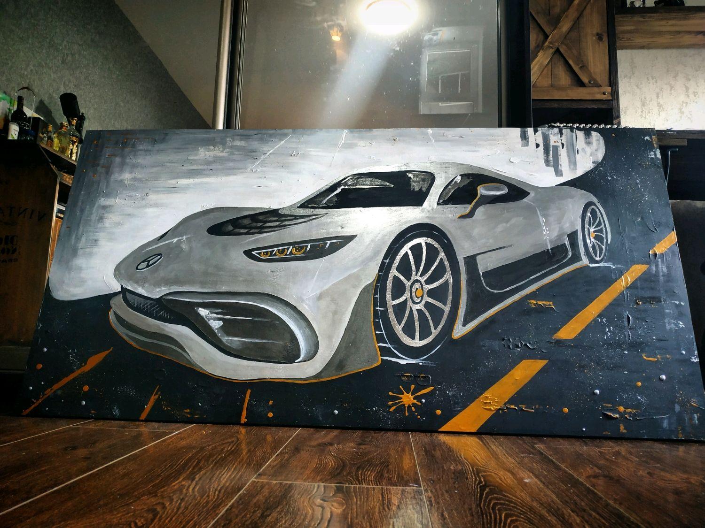Огромная картина Avto 150 x 75, Картины, Майкоп,  Фото №1