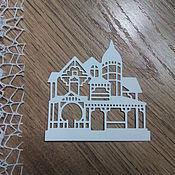 Материалы для творчества handmade. Livemaster - original item !Cutting for scrapbooking - CASTLE for a Princess, diz card. Handmade.