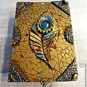 Для дома и интерьера handmade. Livemaster - original item Box-book,the Bluebird of happiness.. book-box. Handmade.