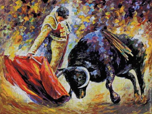 Отныне я тореадор  Иду на встречу я с быком  Хочу произвести фуррор  С корридой с детства я знаком.  В руках мулету я держу,  Она имеет красный цвет,  Корриде честно я служу,