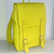Сумки и аксессуары handmade. Livemaster - original item Backpack leather 97. Handmade.