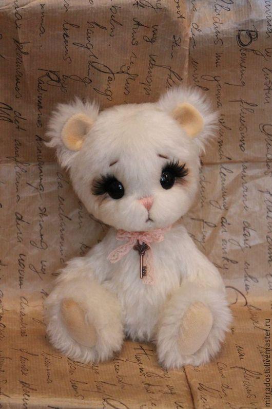Мишки Тедди ручной работы. Ярмарка Мастеров - ручная работа. Купить Мишка Помадка. Handmade. Мишка, авторская работа, подарок